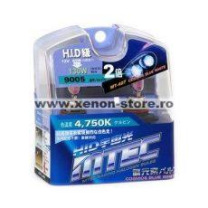 SET 2 BECURI AUTO HB3 (9005) MTEC COSMOS BLUE WHITE - XENON EFFECT