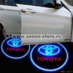 Proiectoare Portiere cu Logo Toyota