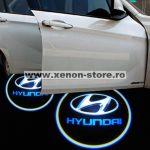 Proiectoare Portiere cu Logo Hyundai