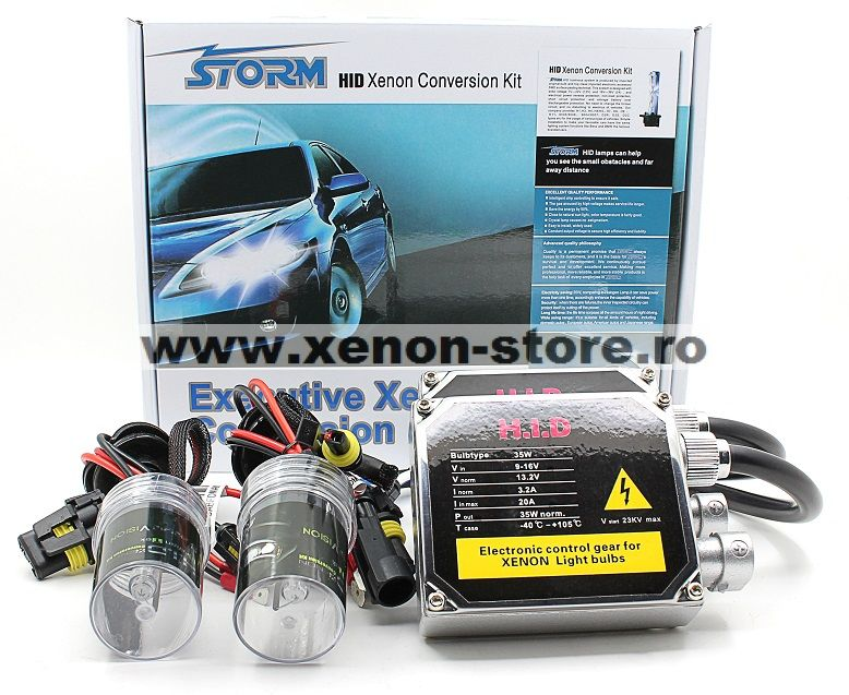 Kit xenon balast slim analogic 35W