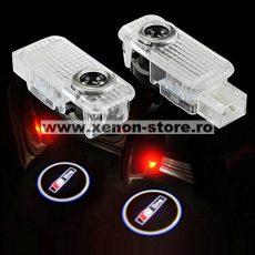 Logo Portiere S-LINE Audi A1, A4, A5, A6, A8, TT, R8, Q5, Q7 -  BTSL-001004-S-LINE