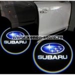 Proiectoare Portiere cu Logo Subaru