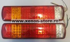 Set 2 Stopuri LED camion 24V cu 5 functii 051-24V