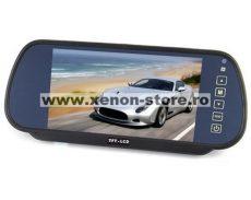 """Display auto LCD 7"""" D706 pe oglinda retrovizoare"""