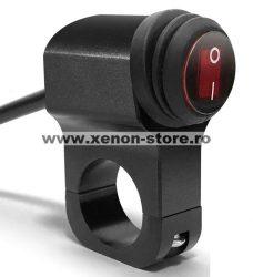 Buton/Switch Waterproof cu montaj pe bara pentru pornirea/oprirea proiectoarelor LED BTAC-S106