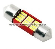 Led Auto Sofit 31mm cu 12 SMD 4014 - fara polaritate