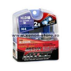 SET 2 BECURI AUTO H4 MTEC SUPER WHITE - XENON EFFECT