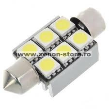Led auto Canbus sofit 36mm 6 SMD