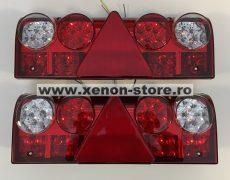 Set 2 Stopuri LED camion 24V cu 5 functii JSM-4