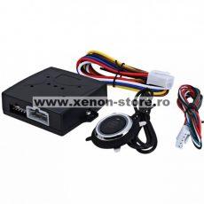 Modul pornire motor fara cheie cu buton Start - Stop KC-PS01