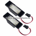 Set 2 lampi numar led Nissan Qashqai, Juke, X-Trail - BTLL-152
