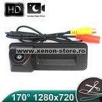 Camera marsarier HD, unghi 170 grade cu StarLight Night Vision pentru Skoda Rapid, Fabia, Superb, Yeti, Roomster - FA8011 (LS8011)