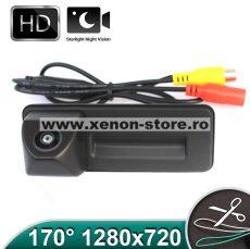Camera marsarier HD, unghi 170 grade cu StarLight Night Vision pentru Skoda Rapid, Fabia, Superb, Yeti, Roomster, Octavia 2 - FA8011 (LS8011)