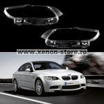 Set 2 sticle faruri pentru BMW Seria 3 E92/E93 Coupe/Cabrio Non Facelift (2006 - 2009) - HB016
