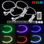 Kit Angel Eyes LED SMD BMW E38 RGB cu 16 culori cu telecomanda