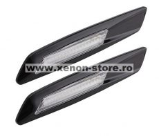Semnalizari Aripa Led Negre BMW E60, E61, E90, E91, E81, E82, E88 - V2
