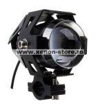 """Proiector LED ATV, Moto de 2"""" cu 2 faze si functie Stroboscop, putere 10W"""