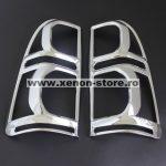 Ornamente cromate stopuri Toyota Hilux Vigo 2011, 2012, 2013, 2014, 2015 THVC12TLCC