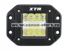Proiector LED Auto Offroad 48W/12V-24V, 2400 Lumeni, Incastrabil, spot Beam 30 grade BTWL-A1SE-48-SPOT