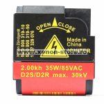 Igniter calculator xenon D2S, D2R compatibil AL Bosch - 1 307 329 076