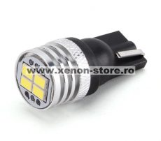 Led Auto Canbus T10 4 Smd 3020 12V - fara polaritate - BTLE1270