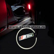 Proiectoare Portiere cu Logo S-Line - BTLW260