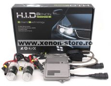 Kit xenon T3-F5 Fast Start 55W 12V-24V cu incarcare rapida, ideal faza lunga