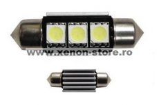 Led auto Canbus sofit 39 mm 3 SMD BTLE1381