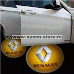 Proiectoare Portiere cu Logo Renault