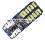 Led Auto Canbus T10 cu 24 Smd 3014 12V T10-3014-24SMD