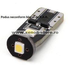 Led Auto T10 3 SMD 2835 - Fara Polaritate - BTLE1280
