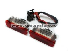 Lampi cu LED Portiera Spate VW, SEAT, SKODA Alb/Rosu - BTLL-062