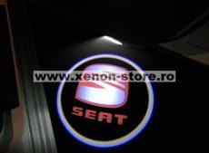 Proiectoare Portiere cu Logo Seat - BTLW101
