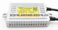 Balast CANBUS X55 Slim Digital 55W cu incarcare rapida
