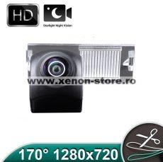 Camera marsarier HD, unghi 170 grade cu StarLight Night Vision Peugeot 207, 307, 308, 407, 508, 807 - FA8210