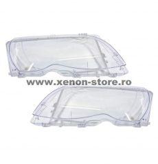 Set 2 sticle faruri pentru BMW Seria 3 E46 Facelift (2001 - 2005) - HB011
