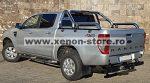 """Rollbar inox cu rail Ford Ranger T6 2012, 2013, 2014, 2015 3""""/76mm RBL-RG12-RBL"""