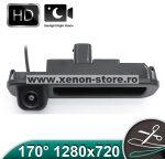 Camera marsarier HD, unghi 170 grade cu StarLight Night Vision FORD FOCUS 3 Hatchback/Break pe manerul de la hayon - FA914