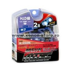 SET 2 BECURI AUTO H7 MTEC SUPER WHITE - XENON EFFECT