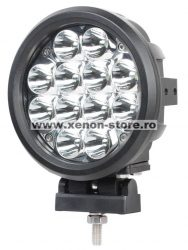 Proiector LED Auto Offroad 60W/12V-24V, 5100 Lumeni, Spot Beam 10 Grade