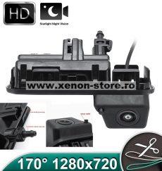 Camera marsarier HD, unghi 170 grade cu StarLight Night Vision pentru Audi Q2, Q3, Q5, A5 - FA8046