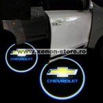 Proiectoare Portiere cu Logo Chevrolet