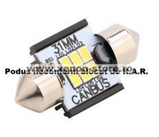 Led Auto Sofit 31mm Canbus 6 SMD 3020 fara polaritate - BTLE1276-31