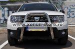 """Bullbar inox inalt Dacia Duster 2013 - 2017 2,5""""/64mm RNA0063"""