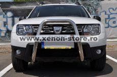 """Bullbar inox inalt Dacia Duster 2010 - 2017 2,5""""/64mm RNA0063"""