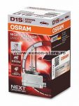 Bec Xenon D1S OSRAM Xenarc NIGHT BREAKER LASER Next Generation, +200% 66140