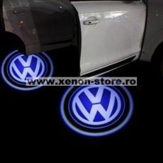 Proiectoare Portiere cu Logo Volkswagen