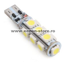 Led auto T10 Canbus cu 13 SMD