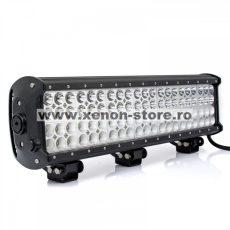 LED Bar Auto cu 2 faze (faza scurta/faza lunga) 252W/12V-24V, 21420 Lumeni, lungime 51 cm, Leduri CREE