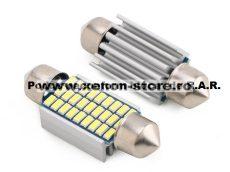 Led Auto CANBUS Sofit 36 mm 27 SMD 3014 - fara polaritate - BTLE1560-36MM